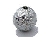 Round 9mm Antique Silver Tone Qty: 10