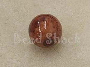 Pottery Look 12mm Round Qty: 10
