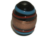Egg Black, Red, Blue  & Bronze Qty: 5