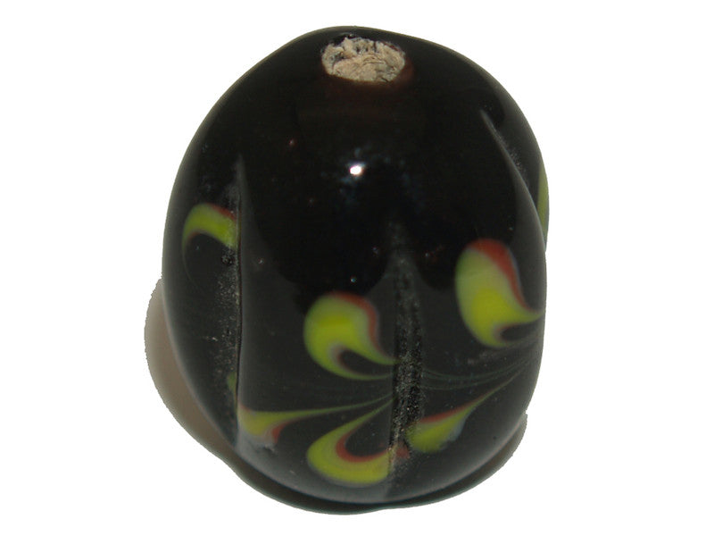 Grooved Oval Focal Bead