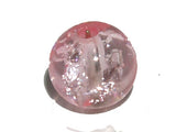 Pink Round 4mm Crackle Glass Qty: 50 beads