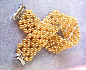 Beautiful Pearl Bracelet Pattern
