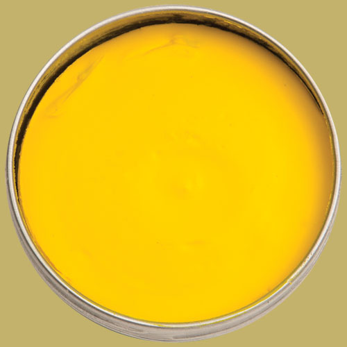 Gilders Paste Wax - Canary Yellow