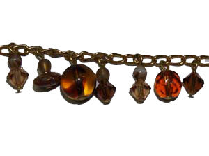 Brown with Gold, Charm Bracelet Kit Qty: 1
