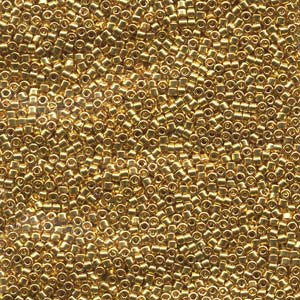 # 31 DBR Delica 11/0 BRIGHT GOLD 22kt Qty: 1 gram