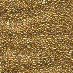 # 31 DBR Delica 11/0 BRIGHT GOLD 24kt Qty: 1 gram