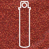 # 43 DBR Delica 11/0 SILVERLINED RED/ORANGE - 7.2g Tube
