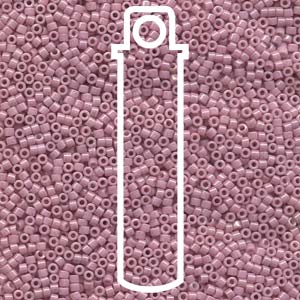 # 210 DBR Delica 11/0 OPAQUE OLD ROSE LUSTRE - 7.2g Tube