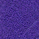 # 661 DBR Delica 11/0 DYED OPAQUE PURPLE Qty: 5 grams