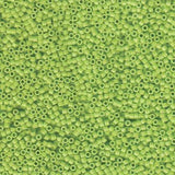 # 733 DBR Delica 11/0 OPAQUE CHARTREUSE GREEN Qty: 7.2g Tube