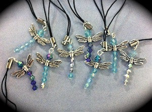 Delightful Dragonflies Kit (makes 6) Gold/Blues