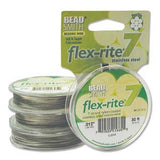 "Flex-rite 7 Stainless Steel 7 Strand .012"" Tiger Tail Qty: 9.2m"