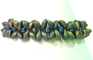 Green Metallic Flutterby Bracelet Kit