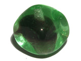 Black/Green Givre 10mm Square/Round Qty: 10 beads