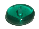 Emerald Transparent 7mm Rondelle Qty: 50 beads