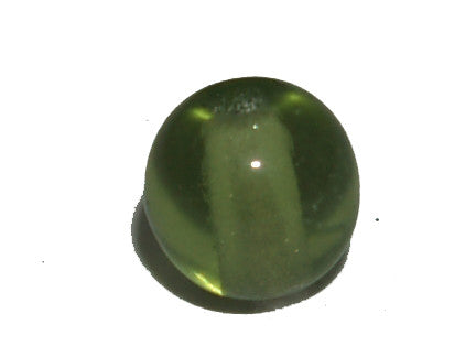 Olive Green Transparent 4mm Round Qty: 100 beads