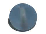 Water Blue 8mm Round Frosted Qty: 10 beads