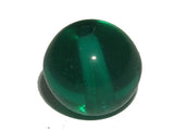 Emerald Green Transparent 8mm Round Qty: 10 beads