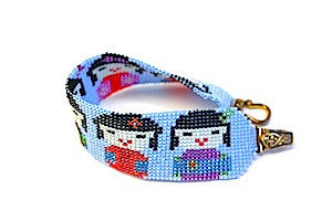 Geisha Girls Square Stitch Bracelet Kit