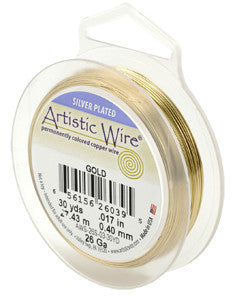 24 gauge Artistic Wire - 2 colours available - Bead Shack