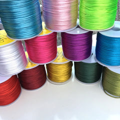 1mm Rat Tail (10 metres) - Colour Choice Available