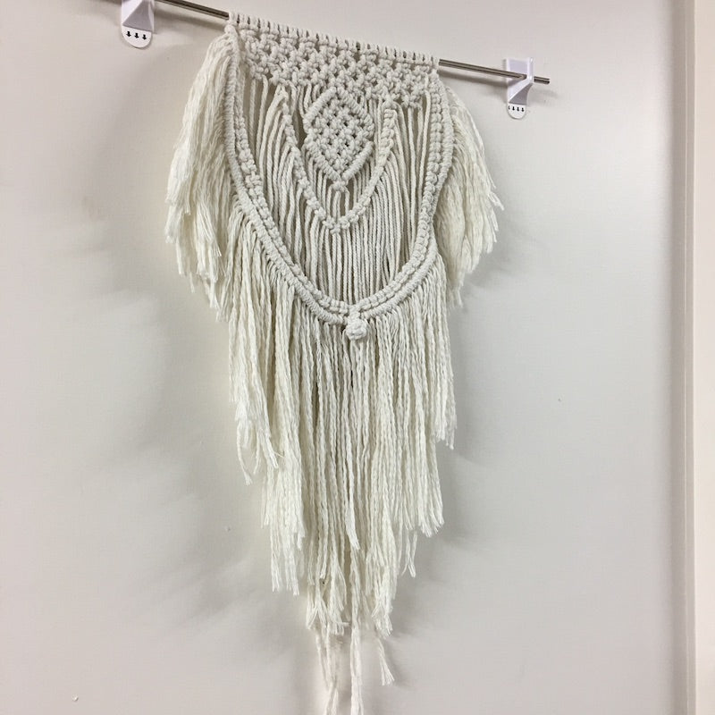 Shaggy Wall Hanging Macrame Pattern