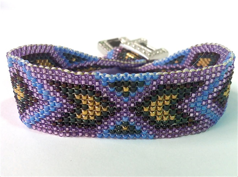 Cheyenne #2 Square Stitch Bracelet Kit