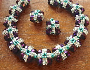 Regal Jewels Bracelet & Earrings Pattern