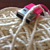 1.5mm - 2mm Natural Cotton Rope - 2 colours available - Bead Shack