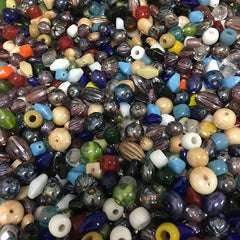 Mixed Colours - Indian Glass Bead Mix