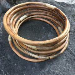 Rattan Hoops - (Single Hoops) - lots of sizes, thick & thin too