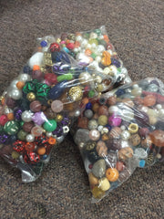 Funky Beads Mix - Qty: 500 grams approx.
