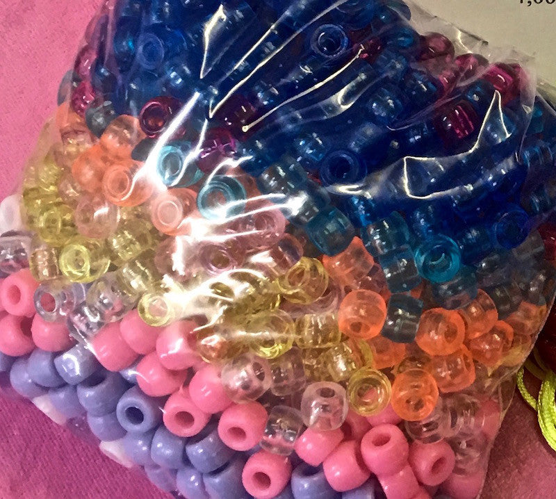 9mm Pony Beads - BULK PACKS