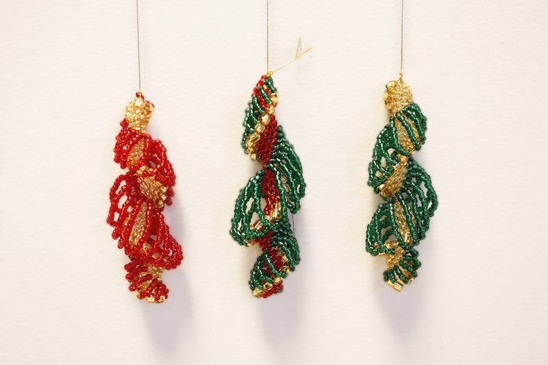 Icicles Decoration Pattern (makes 3)