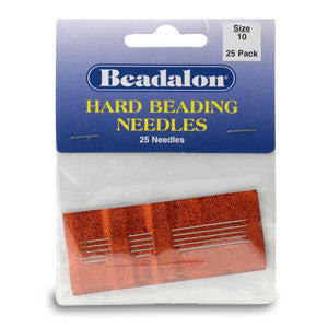 Beadalon Hard Beading Needle - 2 sizes available