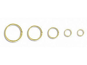 8mm Jumprings Qty: 100