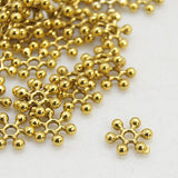 8mm Pinwheel Bead Antique Gold (100)
