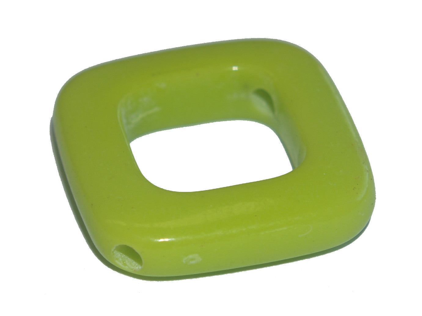 Diamond Frame Lime Green Bead Qty: 1