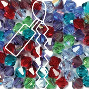Gemstone Mix 3mm (1 String)