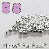 Minos ® par Puca Beads - Argentees - 5 grams