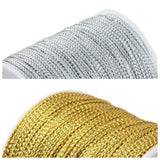 1mm Metallic Cord - 2 colours available