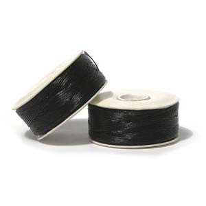 Nymo Thread Size F (Thick) Thread (.35mm) - 2 colours available