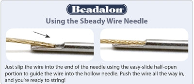Sbeady Wire Needle - 3 sizes available