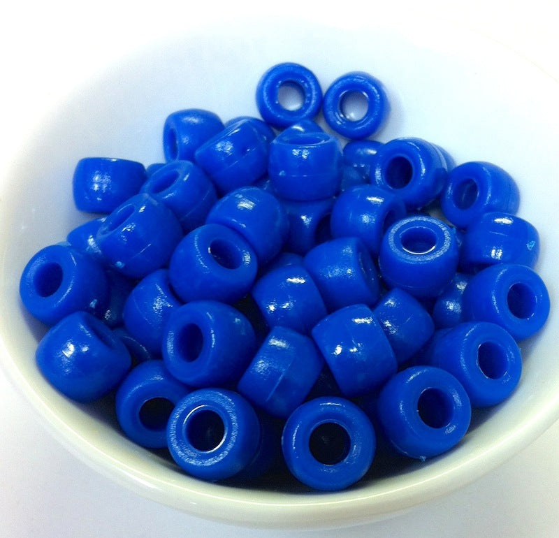 9mm Pony Beads - Opaque