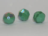 Opaque Green AB 12mm Art. 5000 Qty: 1 - Bead Shack