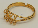 Ring Fitting Gold Qty: 1