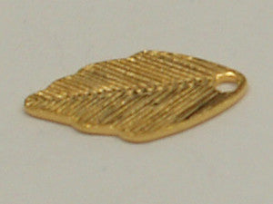 Leaf with Hole Gold Qty: 50