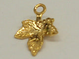 Maple Leaf with Loop Gold Qty: 50