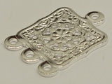 3to1 Square Filigree Chandelier Silver Qty: 10