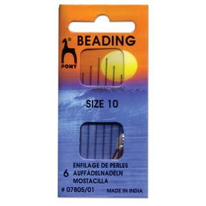 Pony Beading Needles